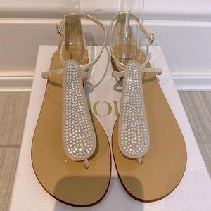 Giuseppe Zanotti Swarovski Sandals